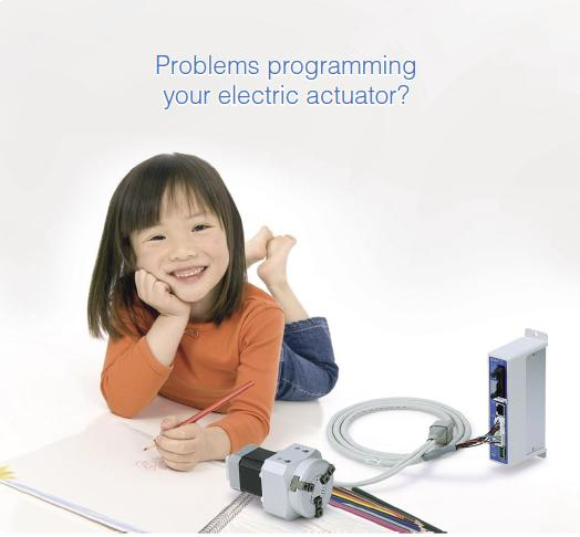 problem programming electric actuators